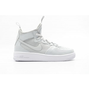 Nike Air Force 1 Ultraforce Mid Hombre Blancas 864014-002