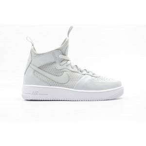 Nike Air Force 1 Ultraforce Mid Hombre Blancas 864014-002