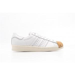 Adidas Superstar 80s Mujer Blancas BA7605