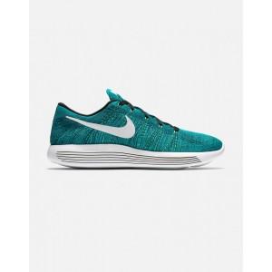 Nike Lunarepic Low Flyknit Hombre verdes 843764-301