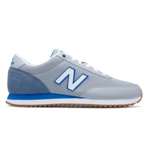 New Balance Hombre MZ501AAG 501 Ripple Sole Plata Mink with Dark Denim