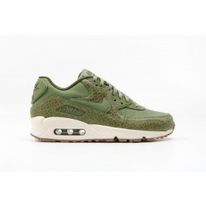 Nike Mujer AIR MAX 90 PREMIUM verdes 443817-301