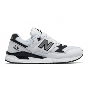 New Balance Hombre M530LGA 530 Leather Blancas with Negras