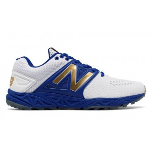 New Balance Hombre T3000P13 Turf 3000v3 Playoff Pack Azules with Blancas