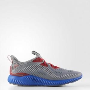 Adidas Alphabounce EM Grises /True Azules /Negras Zapatillas AC8046