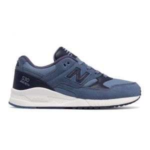 New Balance Mujer W530ASA 530 Canvas Waxed Deep Porcelain Azules with Solstice