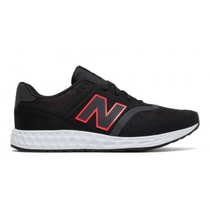 New Balance Hombre MFL574BP 574 Fresh Foam Negras with Pink