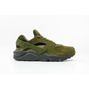 Nike Air Huarache Run SE Hombre verdes 852628-301