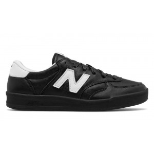 New Balance Hombre CRT300LA 300 Leather Negras with Plata