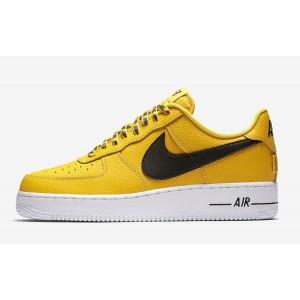 "Nike Air Force 1 Low ""NBA Pack"" Amarillas Amarillas 823511-701"