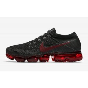 """Nike Air Vapormax Flyknit """"bred"""" Negras/Rojas Hombre 849558-013"""