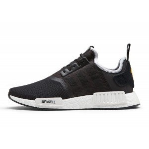 "Adidas Nmd R1 Inv X Nhbd ""Neighborhood"" Negras/Blancas cq1775"