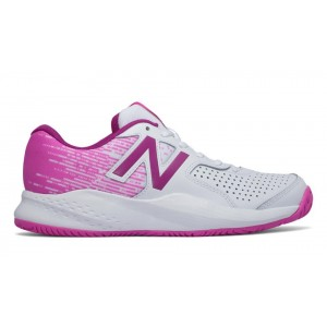 New Balance Mujer WC696WP3 696v3 Blancas with Fusion