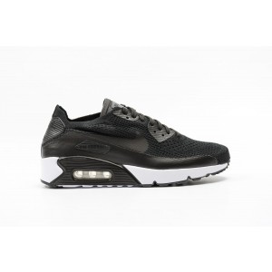 Nike AIR MAX 90 ULTRA 2.0 FLYKNIT Hombre Negras 875943-004