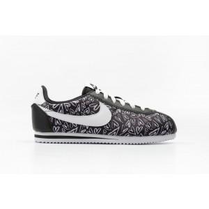Nike Cortez Nylon Print (GS) Mujer Negras 859564-002