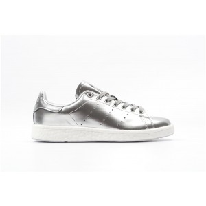 Adidas Stan Smith Boost Mujer Plata BB0108