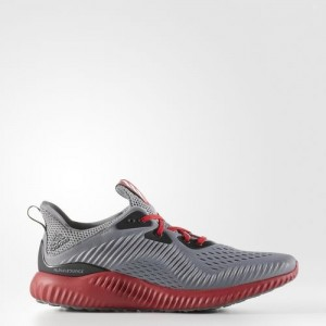 Adidas Alphabounce EM Color Grises / Negras / University Rojas Zapatillas AC8049