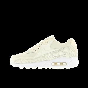 Nike AIR MAX 90 PREMIUM Leather Mujer Blancas 904535-100