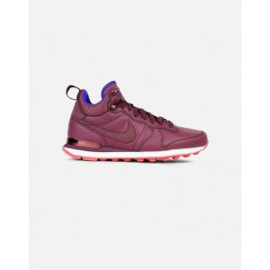 Nike Internationalist Mid Leather Mujer Rojas 859549-600