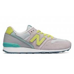 New Balance Mujer WL696JE 696 Nimbus Cloud with Firefly and Aquarius