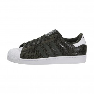 Adidas Originals Superstar 2 Hombre Zapatilla Night Cargo/Blancas S84873