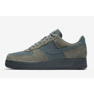 Nike Air Force 1 Hombre Zapatilla River Rock/Verdes/Blancas 820266-019