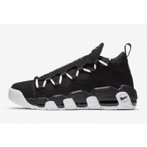 Nike Air More Money Hombre Estilo de vida Zapatilla Negras/Blancas AJ2998-001