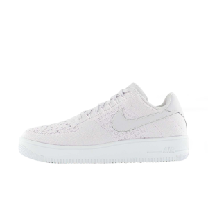 Nike Air Force 1 Flyknit Low Hombre Blancas 817419-500