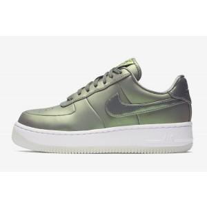 Nike Air Force 1 Upstep Premium LX Mujer Oliva & Blancas AA3964-001