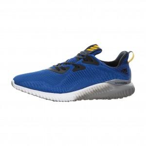adidas Alphabounce Hombre Corriendo Zapatilla Azules bb9037