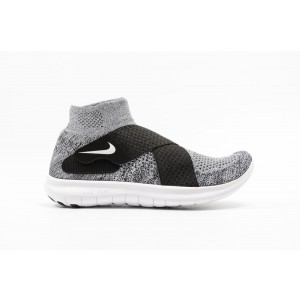 Nike Free Run Motion Flyknit Hombre Negras 880845-001