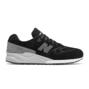 New Balance Hombre MRL999BA 999 Re-Engineered Suede Negras with Grises