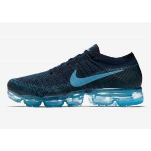 Nike Air VaporMax Flyknit Azules Azules Hombre 849558-405