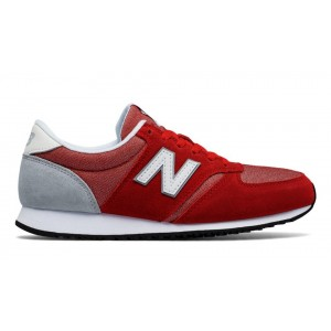 New Balance Mujer WL420CRA 420 Rojas with Blancas and Plata Mink