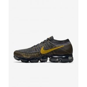 Nike Air VaporMax Flyknit Negras Doradas Hombre 849558-021