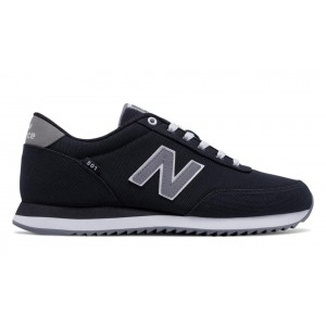 New Balance Hombre MZ501POB 501 Ripple Sole Negras with Gunmetal