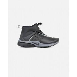 Nike Air Presto Mid Utility Mujer Negras 859527-002