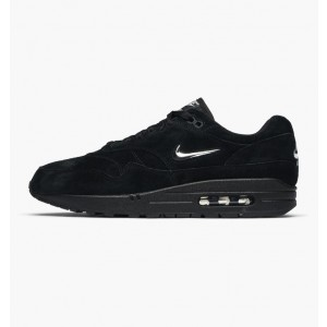 Nike Air Max 1 Premium Jewel Negras Chrome 918354-005