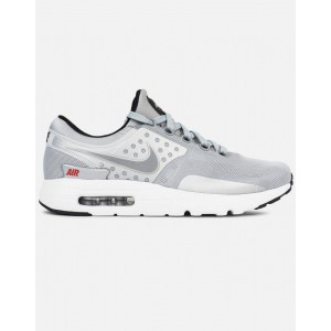 Nike AIR MAX Zero QS Hombre Plata 789695-002