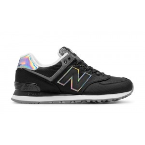 New Balance Mujer WL574TXA 574 Outdoor Festival Negras with Gunmetal