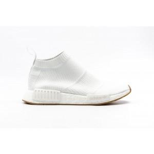 Adidas NMD CS1 Primeknit Hombre Blancas BA7208