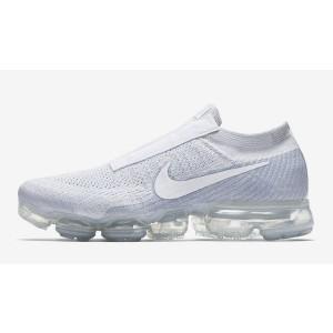 Nike Air Vapormax Flyknit SE Laceless Grises Blancas AQ0581-002
