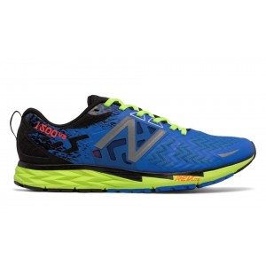 New Balance Hombre M1500BG3 1500v3 Electric Azules with Lime Glo and Negras