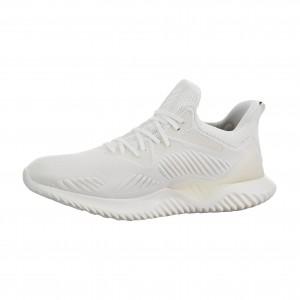 Adidas Alphabounce Beyond M Non Dyed Blancas/Blancas Hombre Corriendo db1125