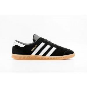 Adidas Hamburg Hombre Negras S76696
