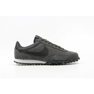 Nike Waffle Racer '17 Leather Hombre Negras 876256-003
