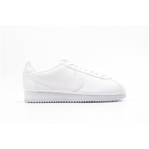 Nike Mujer Classic Cortez Leather Blancas 807471-102