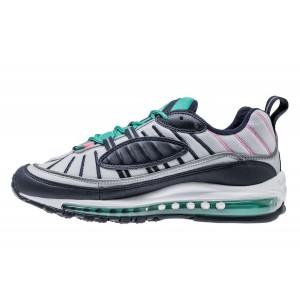 Nike Air Max 98 South Beach Grises/Obsidian/Verdes 640744-005
