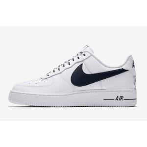 Nike Air Force 1 Low NBA Pack Hombre Blancas/Negras 823511-103