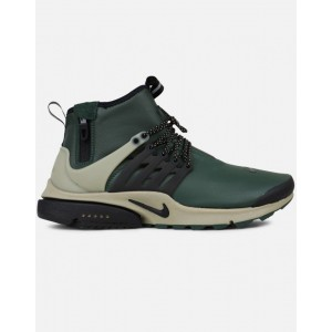 Nike Air Presto Mid Utility Hombre Grises 859524-300